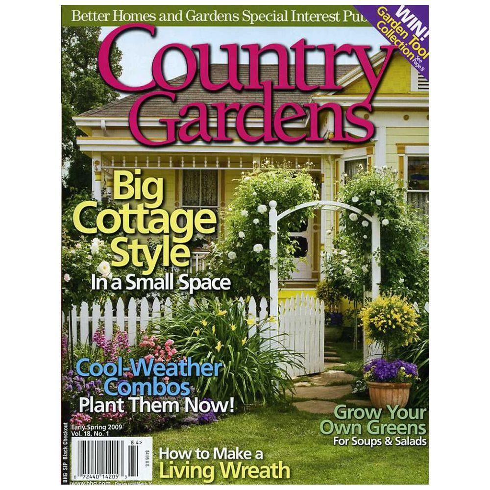 BHG Country Gardens Magazine Spring 201614205 The Home Depot