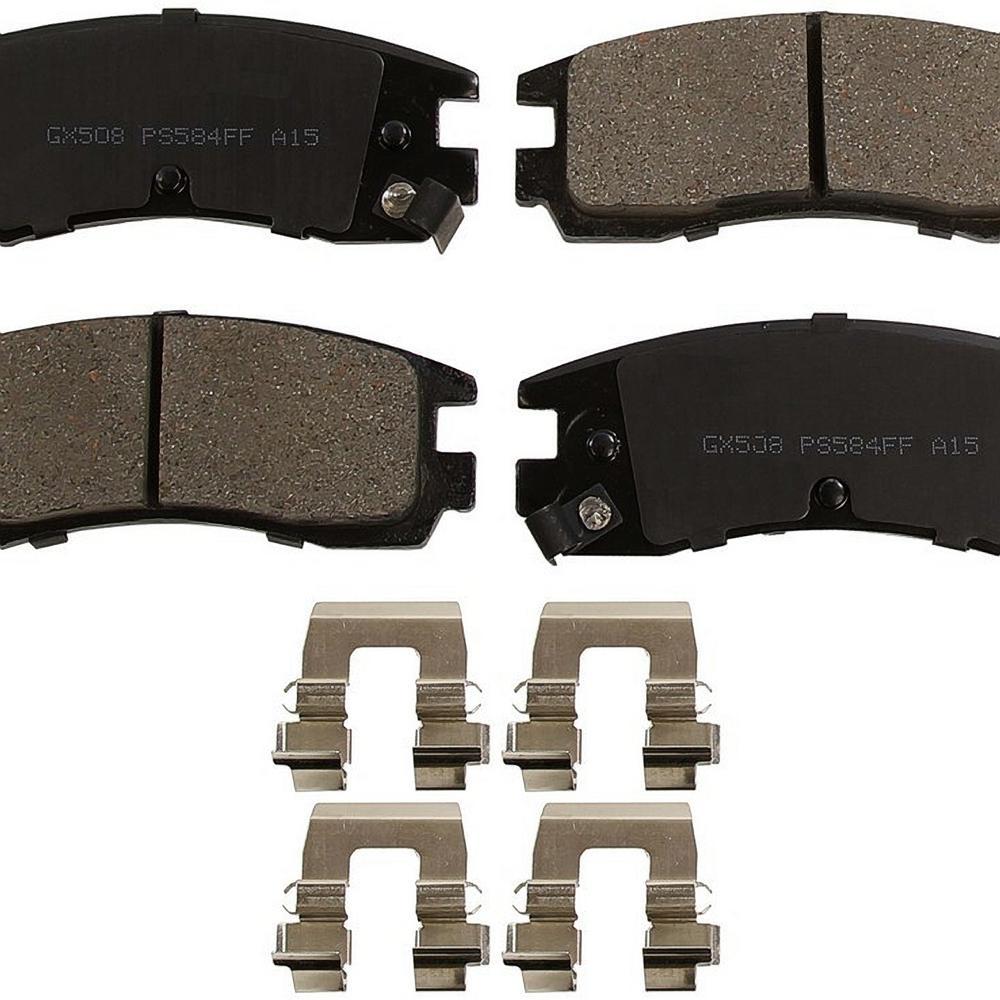 Rear ProSolution Ceramic Brake Pads fits 1991-1999 Saturn SL2 SC2,SW2 SC1,SL,SL1,SW1