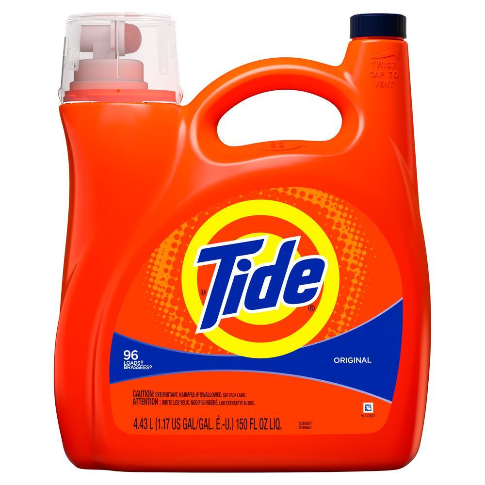 150 oz. Original Scent Liquid Laundry Detergent (96-Loads)