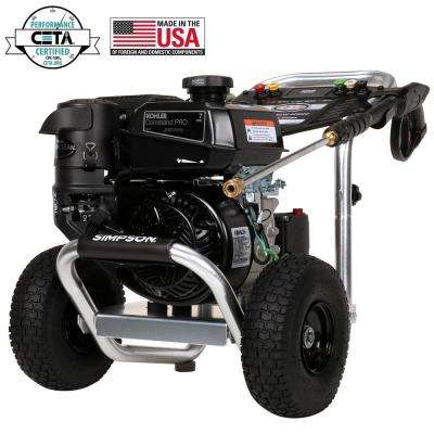 Aluminum 3600 psi at 2.5 GPM KOHLER CH270 with AAA Triplex Pump Professional Gas Pressure Washer (CARB)