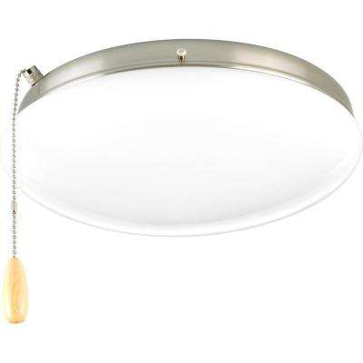 AirPro 2-Light Brushed Nickel Ceiling Fan Light