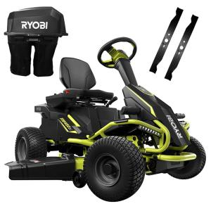 Ryobi 38 In 75 Ah Battery Electric Rear Engine Riding