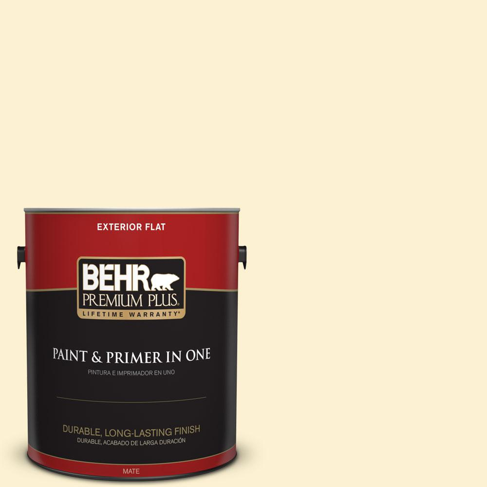 1-gal. #P280-1 Summer Bliss Flat Exterior Paint