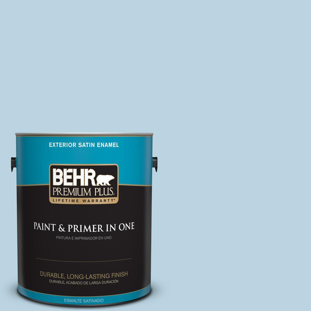 1 gal. #PPU14-16 Millstream Satin Enamel Exterior Paint