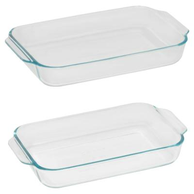 Basics 2-Piece Glass Bakeware Value Pack