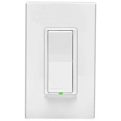 Rocker Light Switch >> Decora Digital 15 Amp 120 Volt Rocker Light Switch And Timer With Bluetooth Technology White