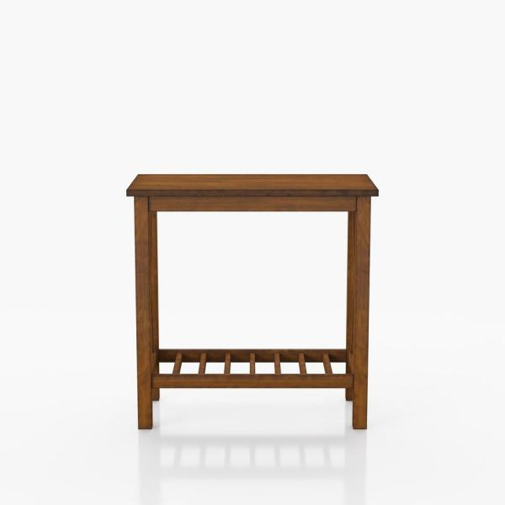 Morvain 23.63 in. H Medium Oak Side Table