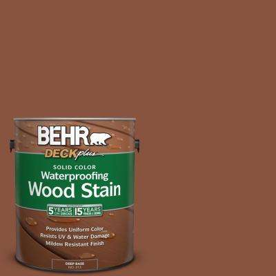 1 gal. #S180-7 True Copper Solid Color Waterproofing Wood Stain