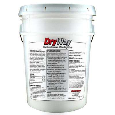 DryWay 5 Gal. Water-Repellent Concrete Paver and Masonry Sealer