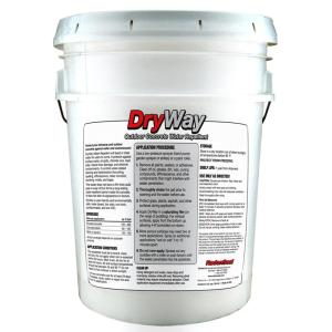 radonseal dryway 5 gal water repellent concrete paver and masonry sealer 205 the home depot. Black Bedroom Furniture Sets. Home Design Ideas