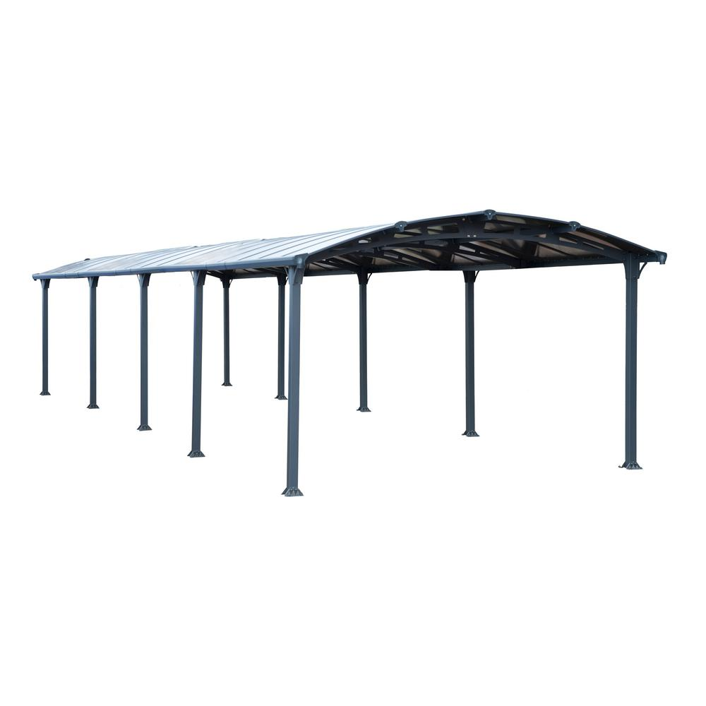 Arcadia 10600 12 ft. x 35 ft. Car Canopy and shelter
