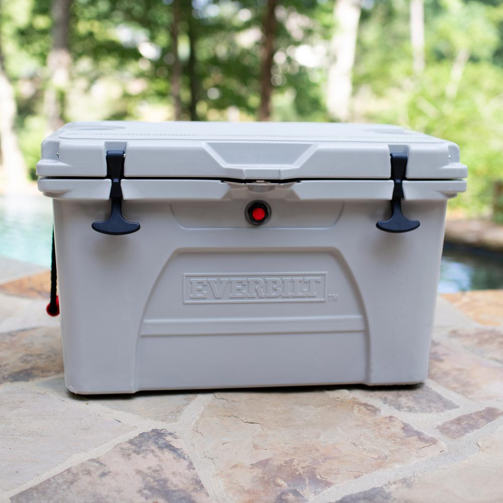 Everbilt 52 Qt. High-Performance Cooler with Lockable Lid - Holds 58 lbs. of Ice