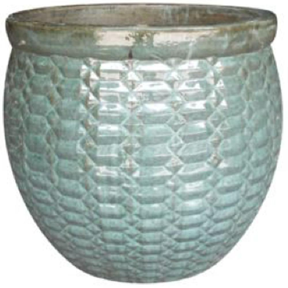 Sku 1004187225 Large 23 5 In Blue Clay Pot