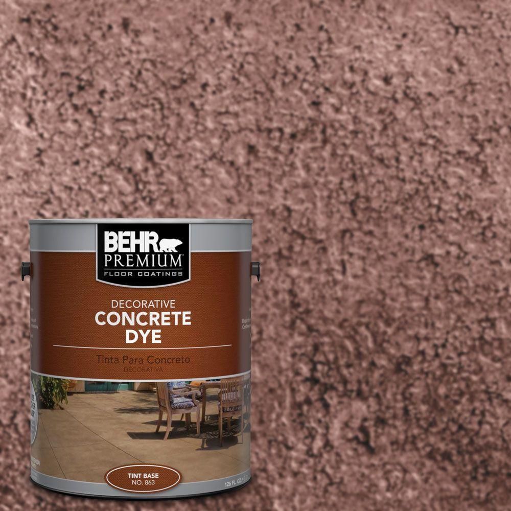 1 gal. #CD-805 Grape Royale Concrete Dye
