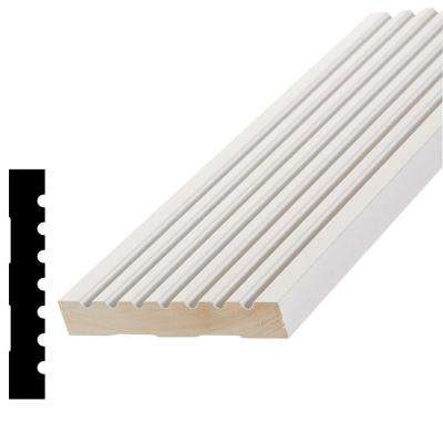 WPAMC 288 11/16 in. x 4-1/4 in. x 96 in. Primed Finger-Joint Pine Casing