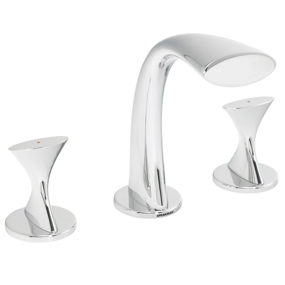 Speakman Pearce 8 in. Widespread 2-Handle Bathroom Faucet in Polished Chrome