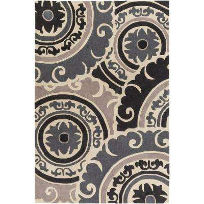 Labynkr Black 2 ft. x 3 ft. Indoor Area Rug