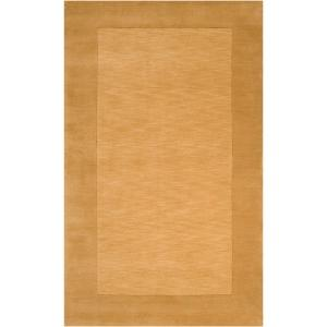 Foxcroft Gold 8 ft. x 10 ft. Indoor Area Rug