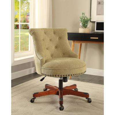Sinclair Green Office Chair