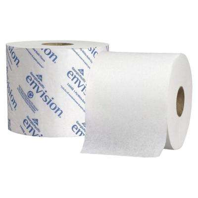 Envision White High Capacity Standard Bathroom Tissue 2-Ply (1000 Sheets per Roll)