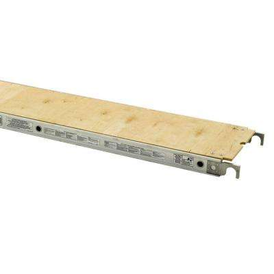 7 ft. x 19 in Plywood Decked Aluma-Plank with 250 lb. Load Capacity