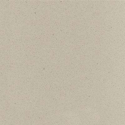 2 in. x 2 in. Solid Surface Countertop Sample in Canvas