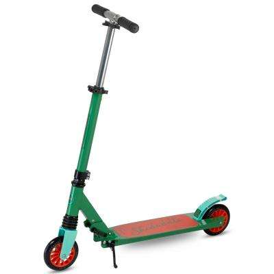 Skedaddle S-30 Premium Folding Kids Kick Scooter in Green