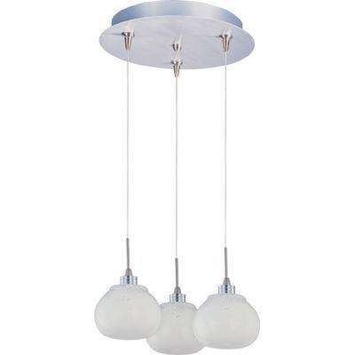 Snow White 3-Light RapidJack Pendant and Canopy