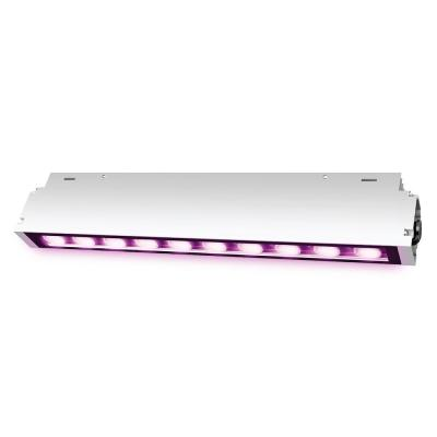 2 ft. 60-Watt Heavy-Duty White Hydroponic LED Non-Dimmable Indoor and Outdoor Linkable Vertical Grow Light Fixture