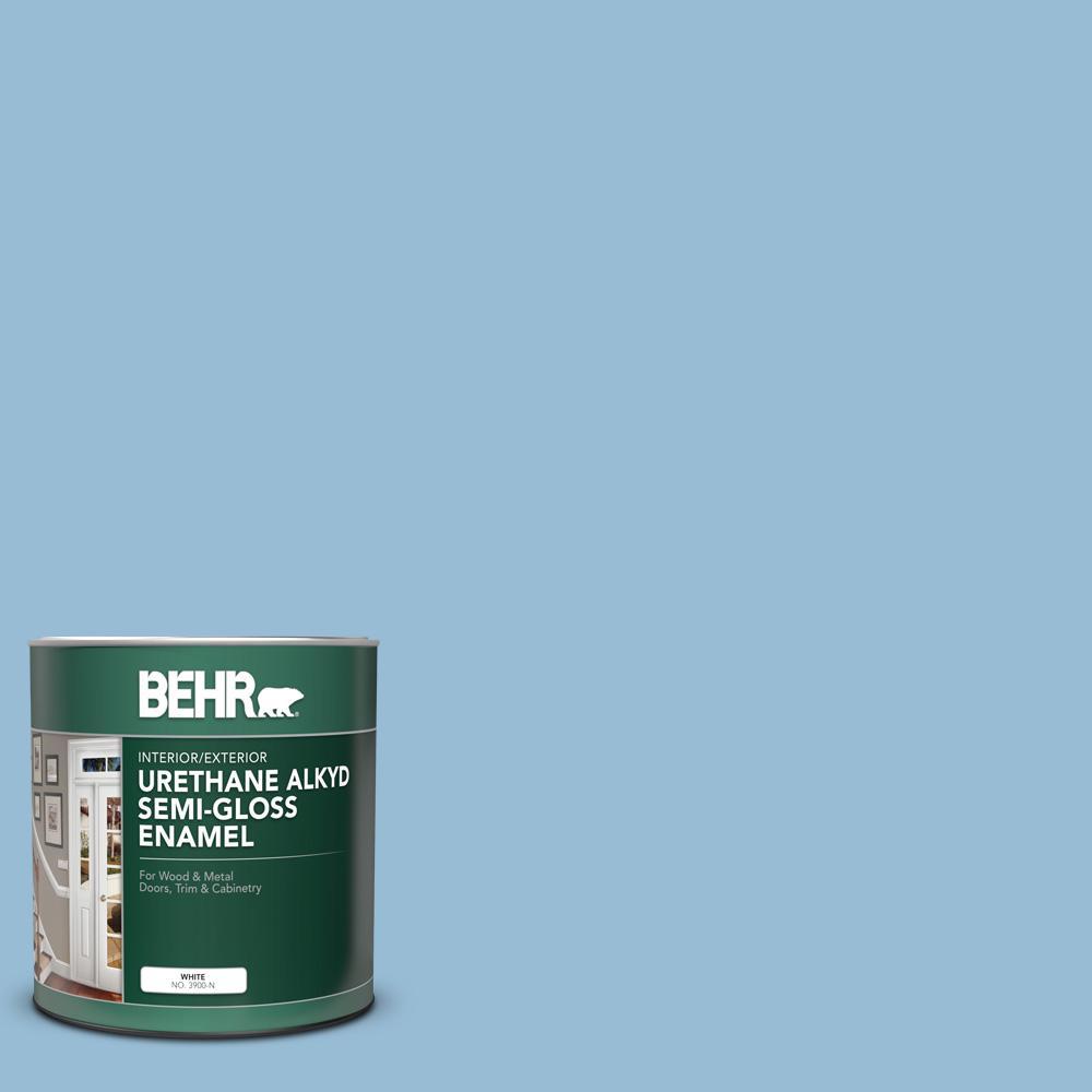 Gentle Sky Semi Gloss Paint Colors Paint The Home Depot