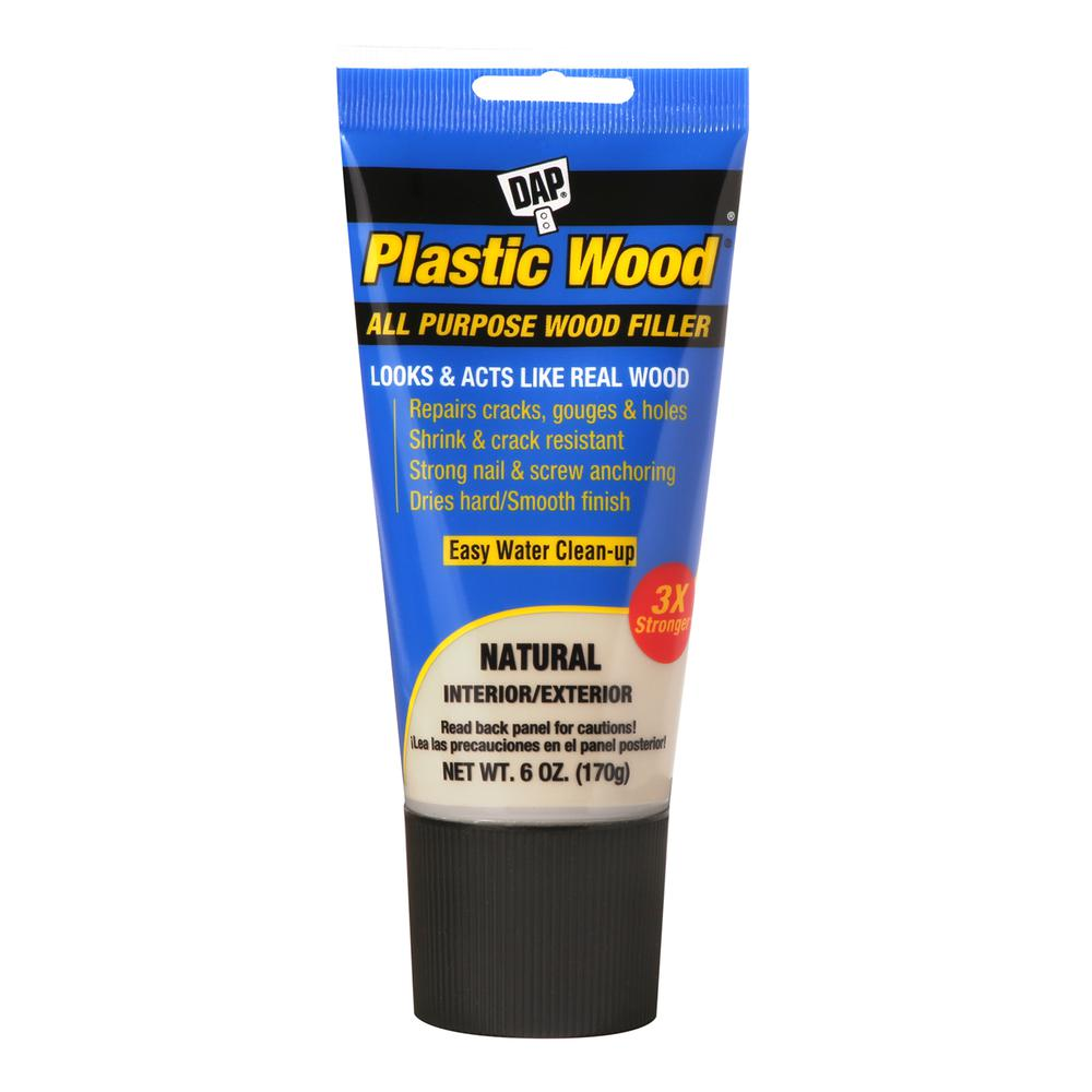 DAP Plastic Wood 6 oz. Natural Latex Wood Filler