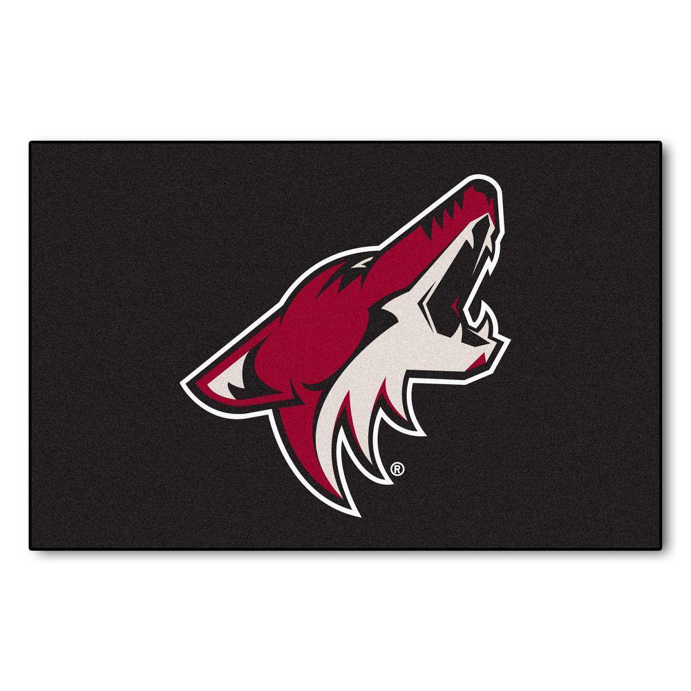 Fanmats Phoenix Coyotes 19 In X 30 In Accent Rug 10656