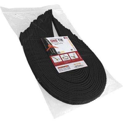 20 in. Cable Ties, Black (25-Pack)