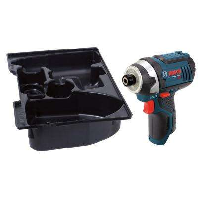 12 Volt Lithium-Ion Cordless 1/4 in. Variable Speed Impact Driver with Exact-Fit Insert Tray (Tool-Only)