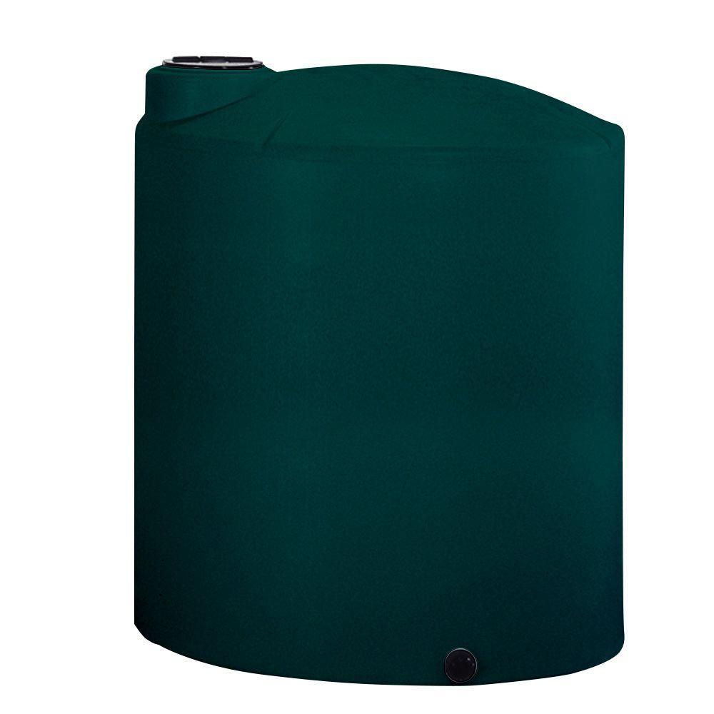 2500 Gal. CA Green Vertical Water Tank