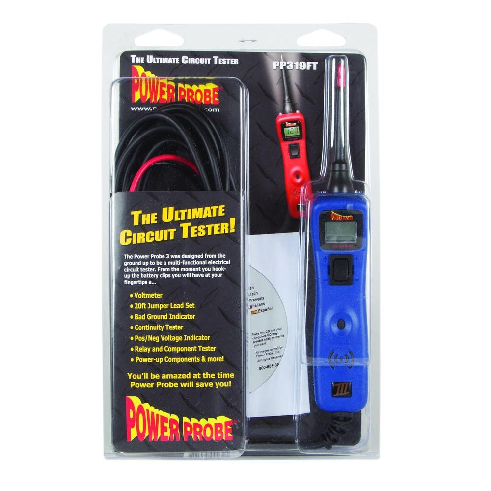 Power Probe Circuit Tester Blue Pp3csblu The Home Depot Electrical Energy But That Doesn39t Make A Complete Where