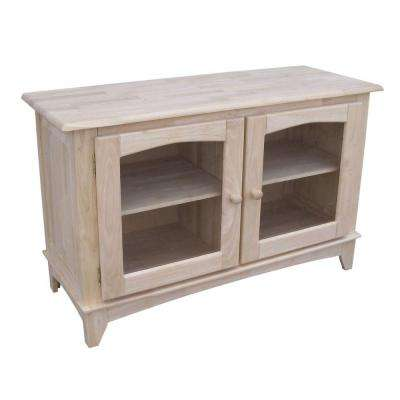 Unfinished Storage Entertainment Center