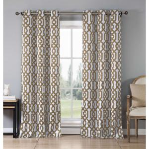 Duck River Blackout Ashmont 112 inch L Blackout Grommet Panel in Taupe (2-Pack) by Duck River