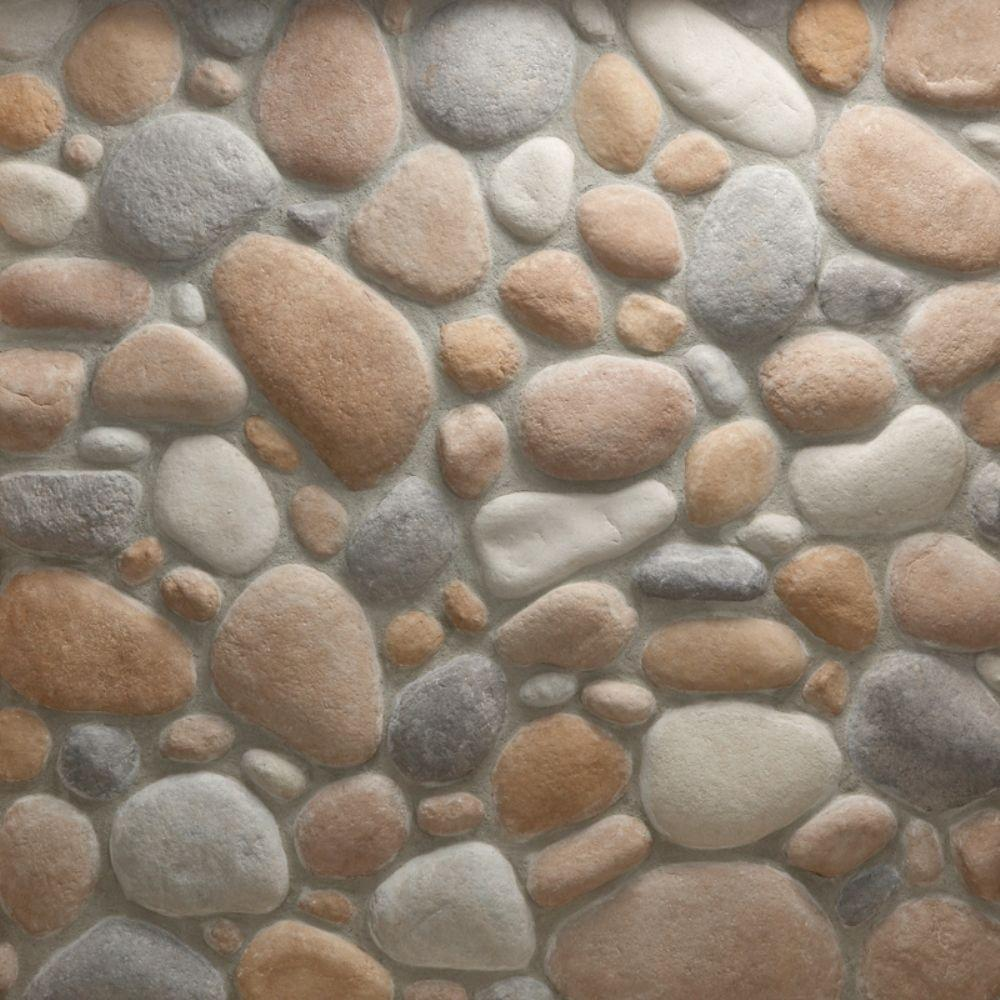 Veneerstone river rock gainsboro corners 100 lin ft bulk for What to do with river rock