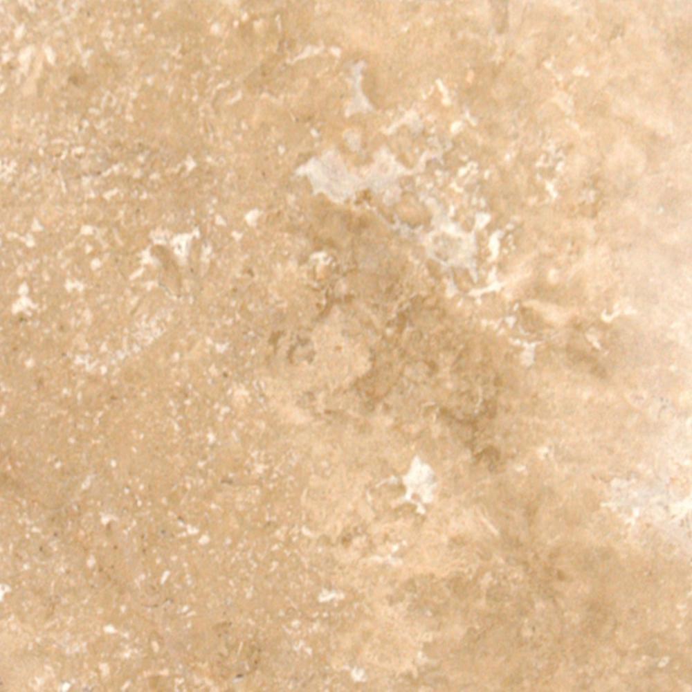 Mediterranean Pattern Walnut Tumbled Travertine Paver Kits (30-Kits/480 sq. ft./Pallet)