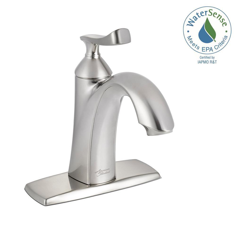 American Standard Chatfield Single Hole Single-Handle Bathroom Faucet in Brushed Nickel by American Standard