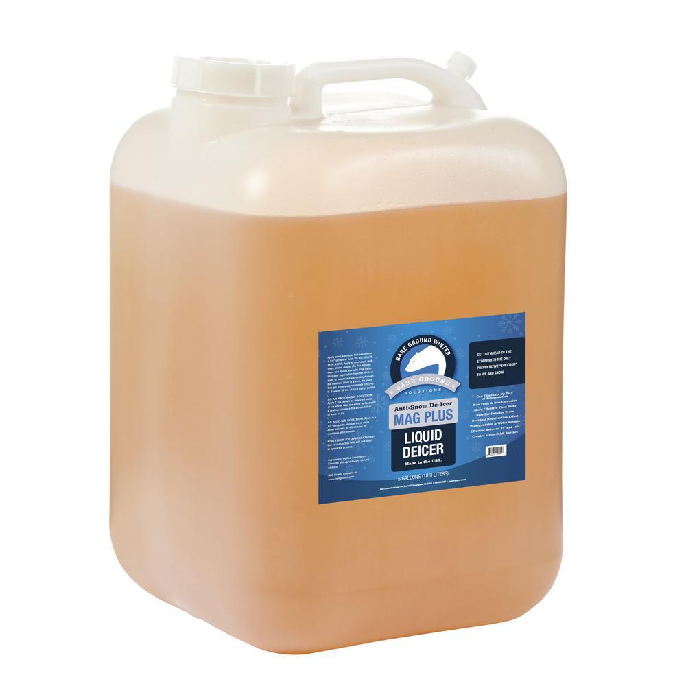 Bare ground 5 gal liquid anti snow de icer bg 5p the for Bare floor solutions