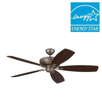 Bonneville Max 60 in. Brushed Pewter Ceiling Fan