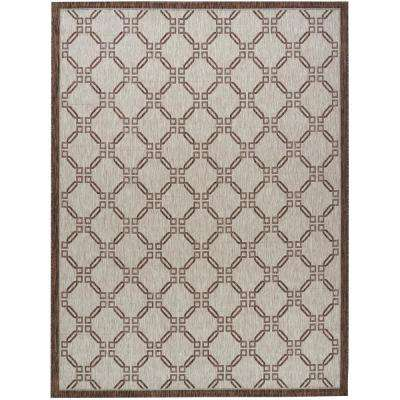 Country Side Natural 8 ft. x 11 ft. Indoor/Outdoor Area Rug