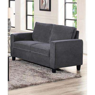Garren Loveseat in Dark Grey