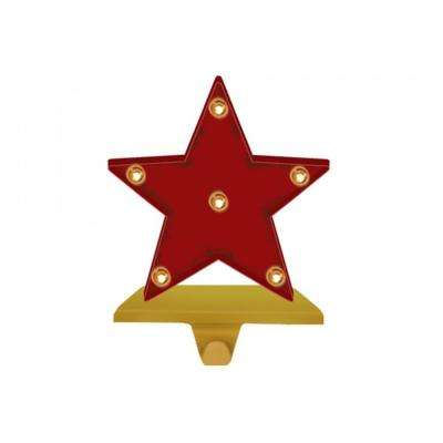 8.48 in. H Marquee LED Star Stocking Holder