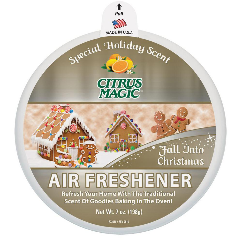 7 oz. Limited Edition Holiday Fragrance Solid Air Freshener Fall Into