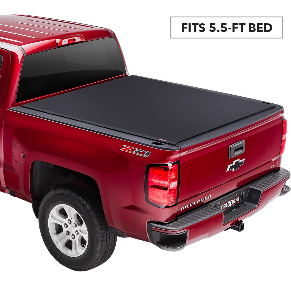 Truxedo Pro X15 Tonneau Cover 07 19 Toyota Tundra 5 Ft 6 In Bed With Deck Rail System 1463801 The Home Depot