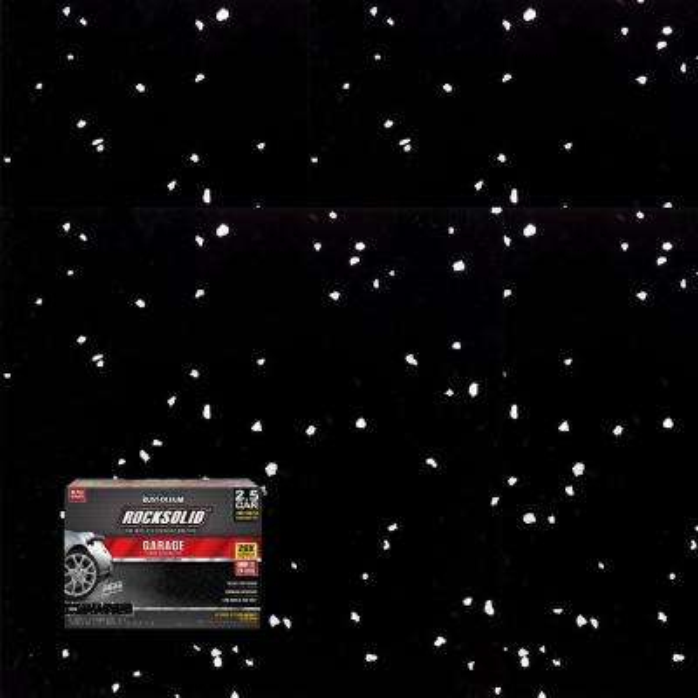 152 oz. Black Polycuramine 2.5 Car Garage Floor Kit