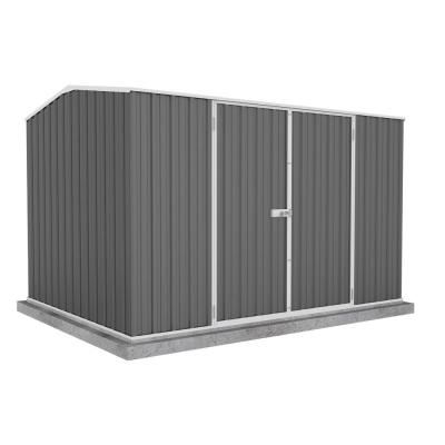 Premier 10 ft. x 7 ft. Woodland Gray Metal Shed